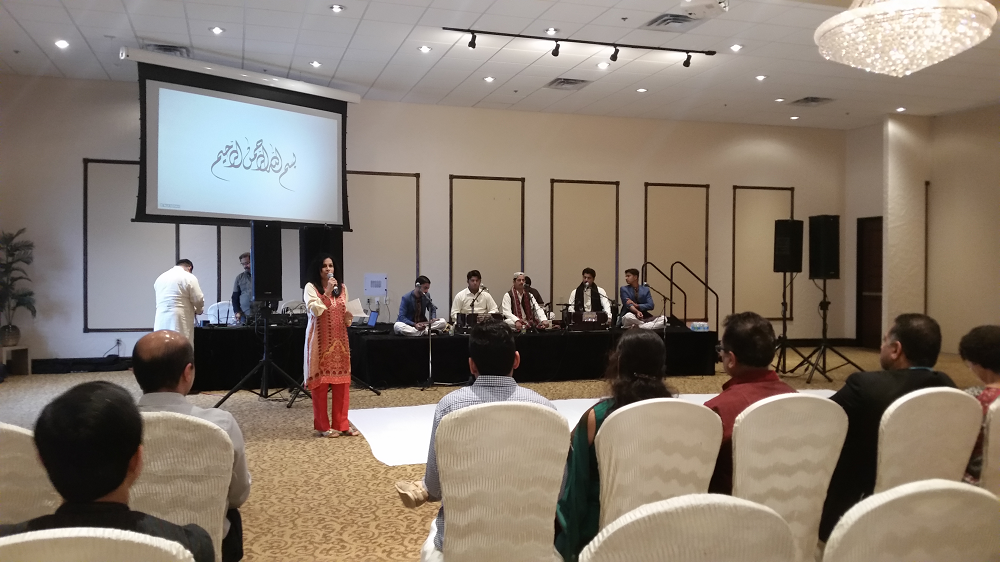 Aysha Sayani Shafi, Radio Azad welcoming guests